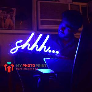 Neon Shhh... Led Neon Sign Decorative Lights Wall Decor