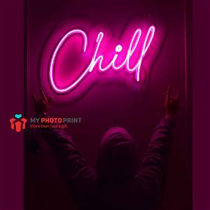Neon Chill Led Neon Sign Decorative Lights Wall Decor