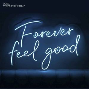 Neon Forever Feel Good Led Neon Sign Decorative Lights Wall Decor