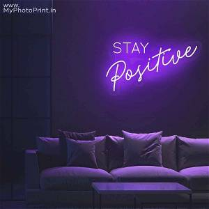 Neon Stay Positive Led Neon Sign Decorative Lights Wall Decor