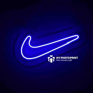 Neon Nike Led Neon Sign Decorative Lights Wall Decor| Size Approx 15 inch X 8 inch