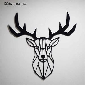 Deer Wooden Wall Decoration
