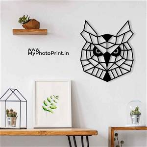 Owl Wooden Wall Decoration