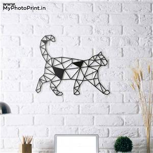 Cat Wooden Wall Decoration
