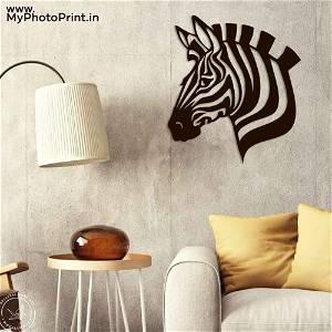 Zebra Wooden Wall Decoration