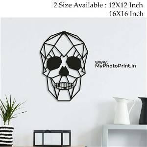 Skull Wooden Wall Decoration