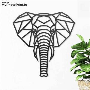 Elephant Wooden Wall Decoration