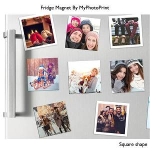 Square Photo Fridge Magnets | Get Customized & Personalized Photo Pair of 4