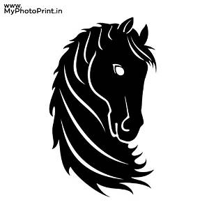 Horse Wooden Wall Decoration