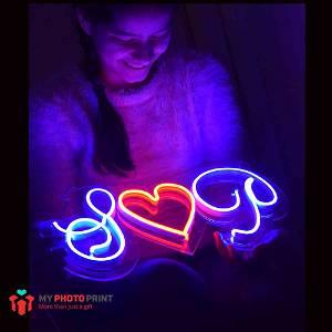 Neon Couple Led Neon Sign Decorative Lights Wall Decor