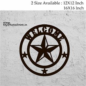 Star Wooden Wall Decoration