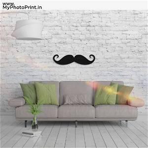 Moustache Wooden Wall Decoration